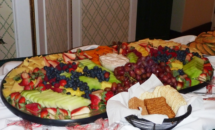 Abundant fresh fruit for your buffet